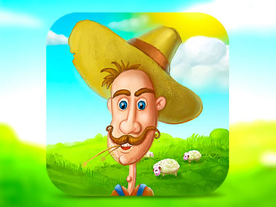 farming mobile app icon design ipad