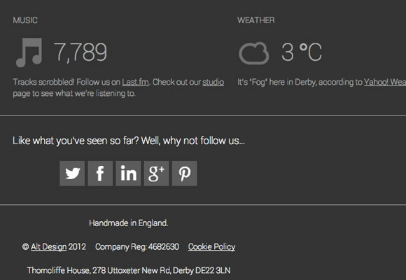 graphics design website agency studio layout