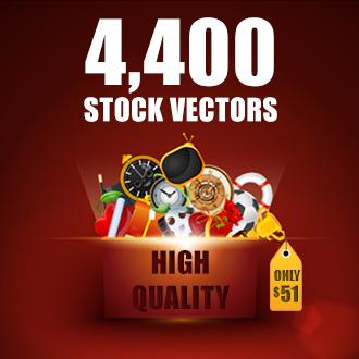 DealPixel: Massive Vector Bundle – 4400 Vectors