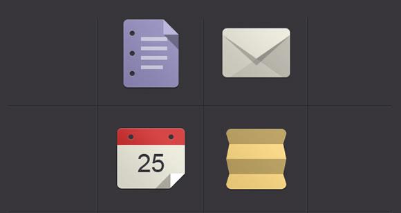 8 Beautiful and Free Flat Icon Sets