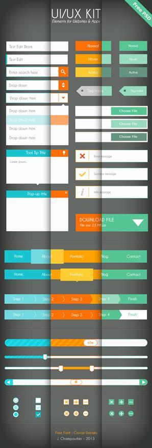 Flat Design Inspiration