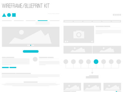 10 Free UI Wireframe Kits