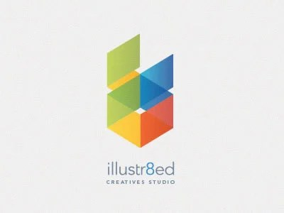 Elegant, Colourful Logos