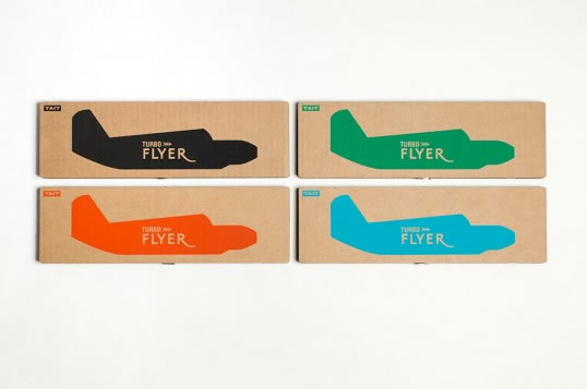 Type and Color Inspiration from Packages