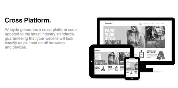Webydo, a Sophisticated online software to Create and Manage Code-free Websites