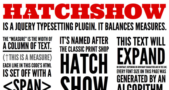 10 Super Useful Typography jQuery Plugins