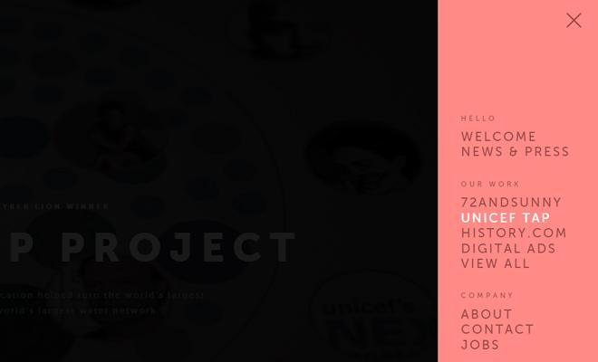 bad assembly website vertical nav design
