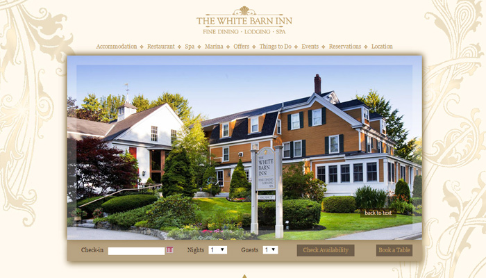 white barn inn hotel maine