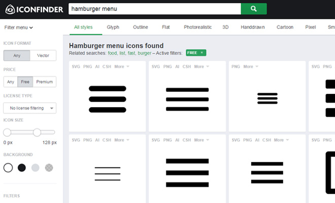 best practice hamburger Good designers know that they can and should use popular design patterns follow these website user experience best practices to create a killer website.