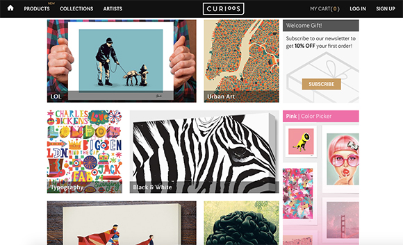 20 Creative Grid-Based Sites Designs for Inspiration