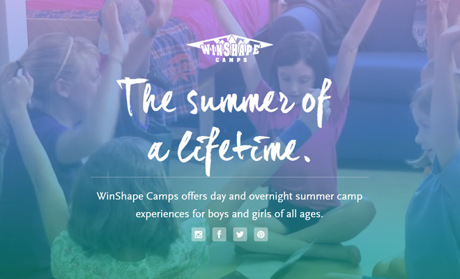 winshape camps video bg effect