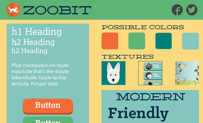 zoobit creative style tile