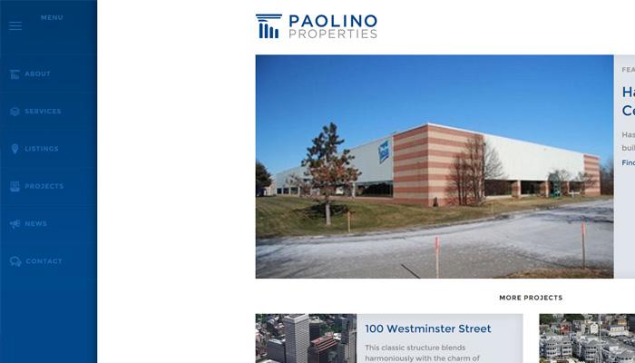 Paolino emlak firması web sitesi