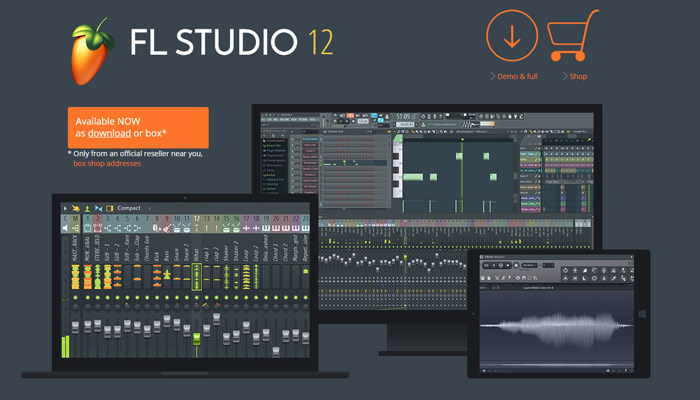 fruity loops studio homepage