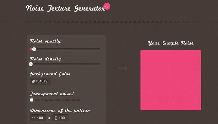 noise texture generator webapp