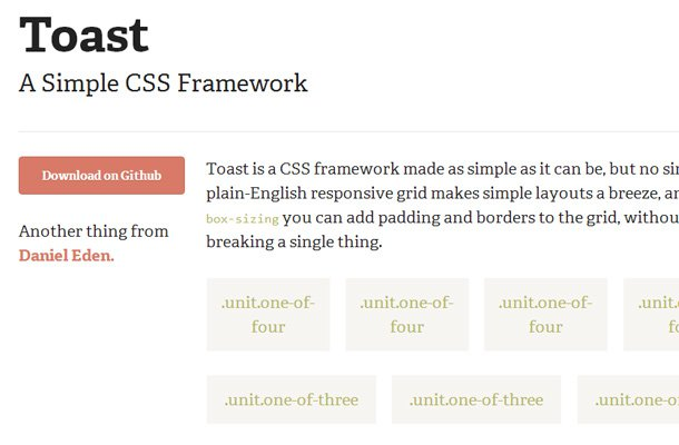 28 powerful open source css frameworks libraries toast css framework homepage library malvernweather