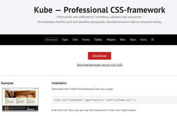 28 powerful open source css frameworks libraries kube professional css framework open source malvernweather