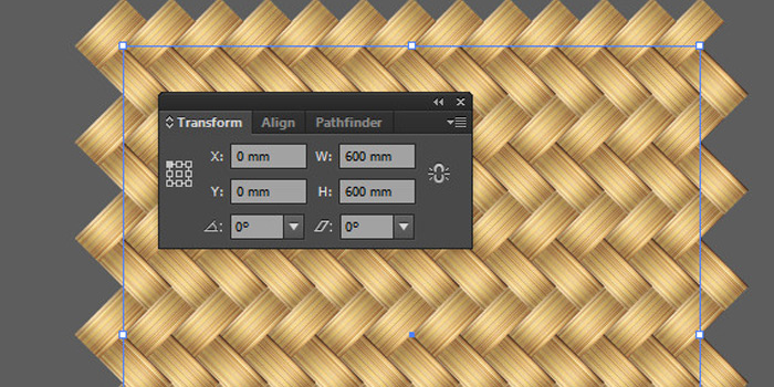 illustrator wicker pattern howto