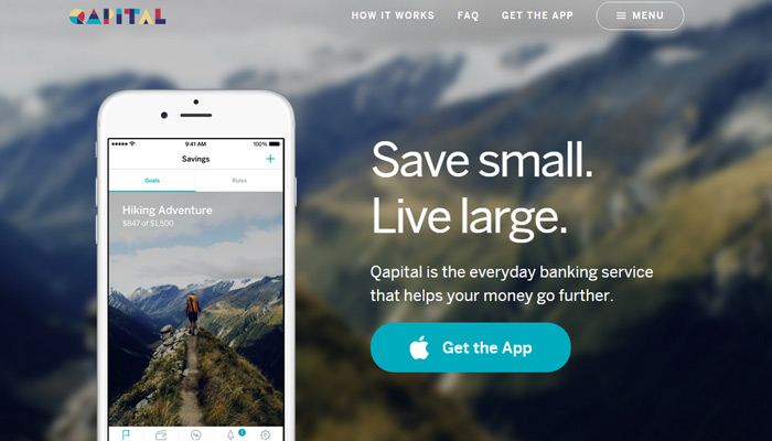 qapital app page
