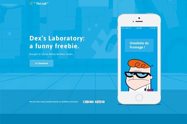 25 Downloadable Freebie PSD Website Layout Mockups