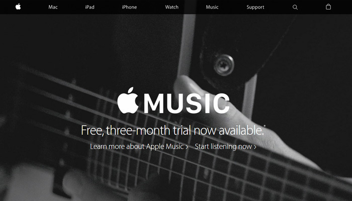 homepage redesign of apple.com