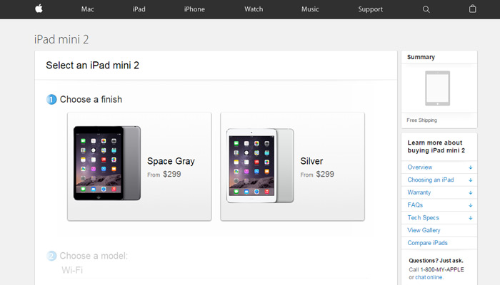 new 2015 Apple store checkout