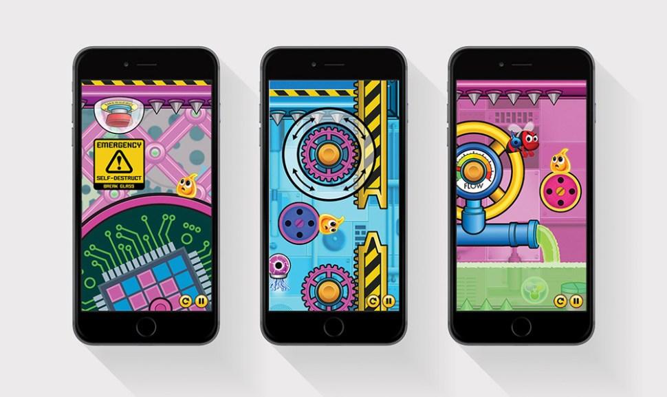 Ian Paget GooHoo design work apps