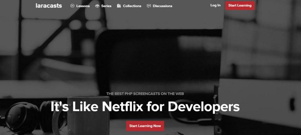 Laracasts homepage