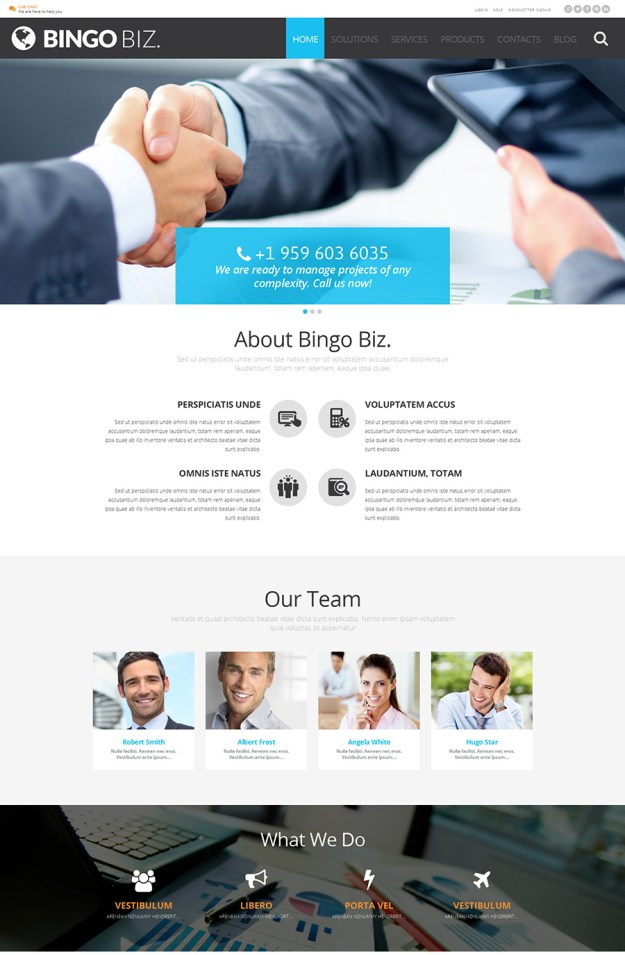 12 corporate wp theme