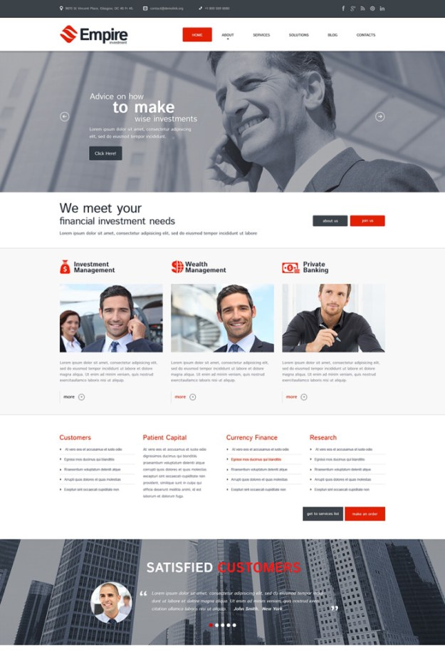 13 corporate wordpress theme
