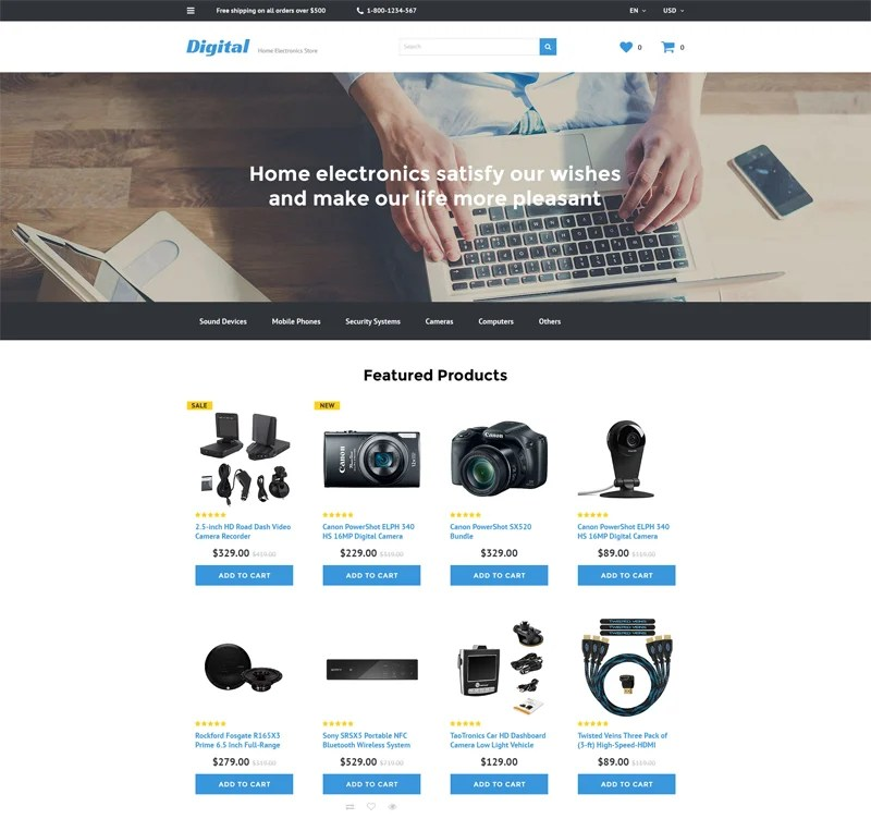electronic-store-opencart
