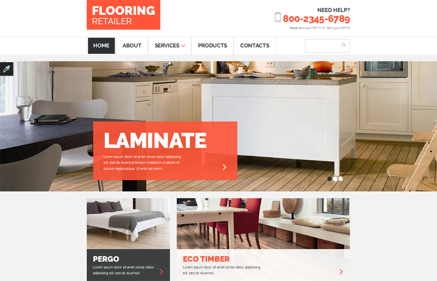23. flooring-responsive-website-template
