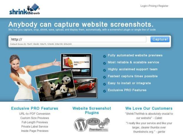 2. Shrinktheweb.com