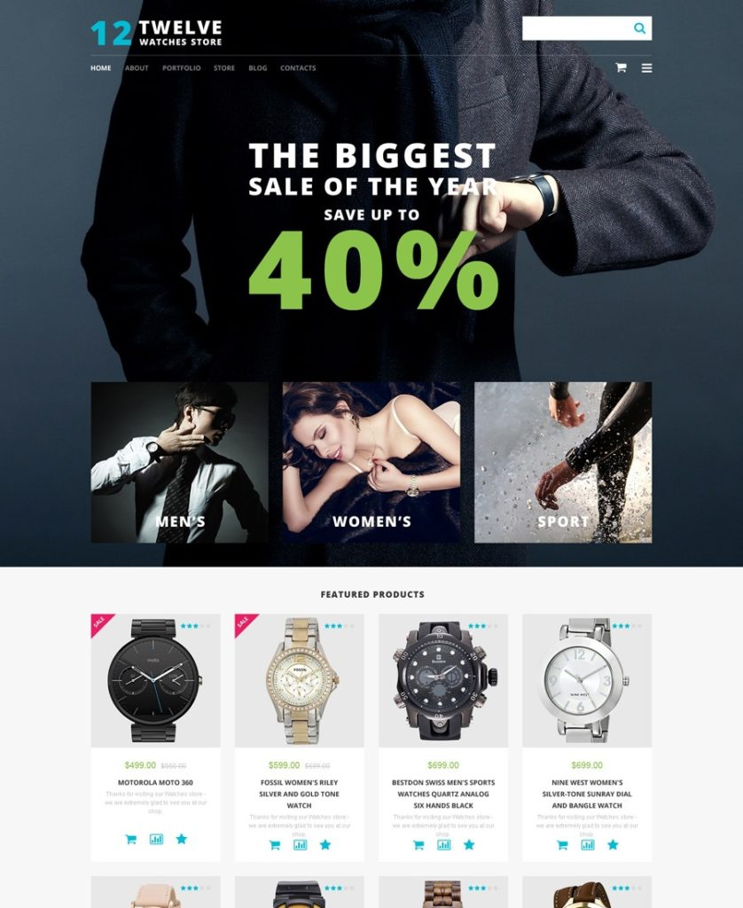 11-watches-store-wp-template