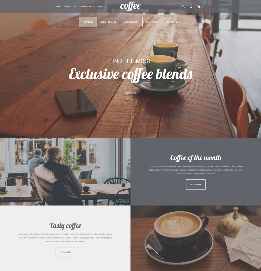 23-coffee-house shopify theme