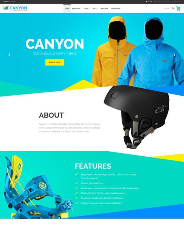 30-canyon shopify theme