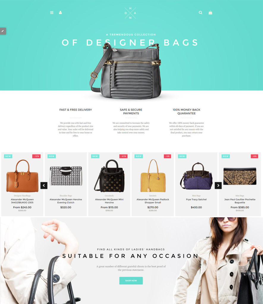 5-handbag-boutique shopify theme