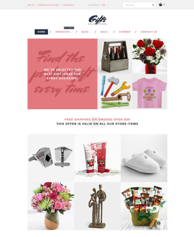 6-gifts-online-store shopify theme