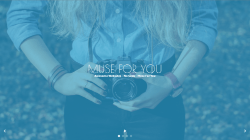 Muse For You - Fullscreen Slideshow Cover Widget - Adobe Muse CC
