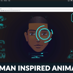 Muse For You - Iron Man Inspired Animation - Adobe Muse CC