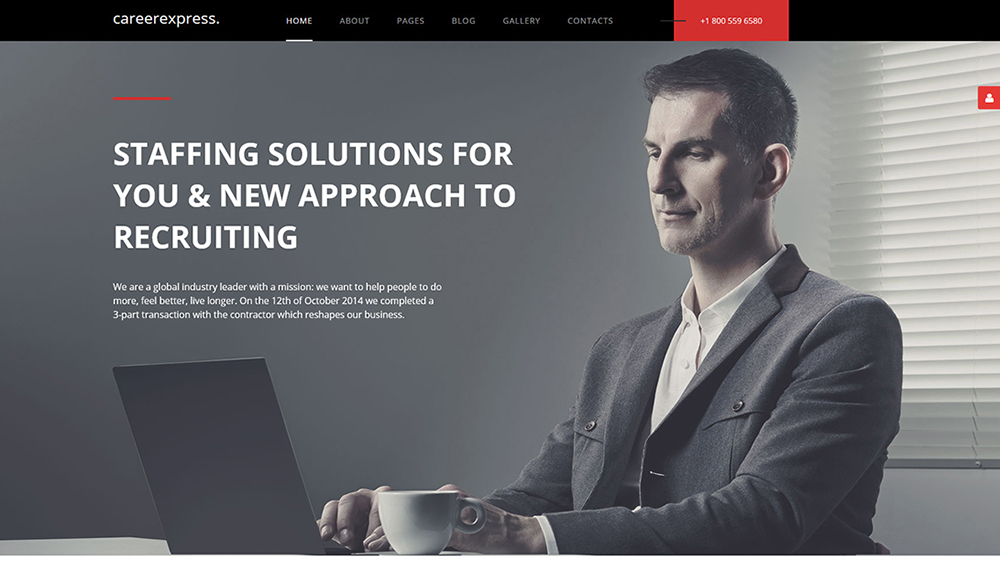 Career Express Joomla 3 Templates