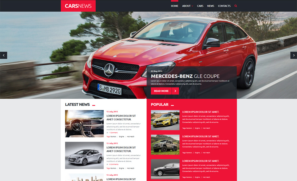 Cars-News-Joomla-Template