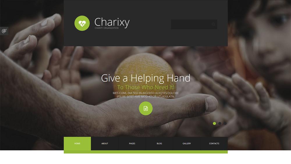 Charixy-Joomla-Template