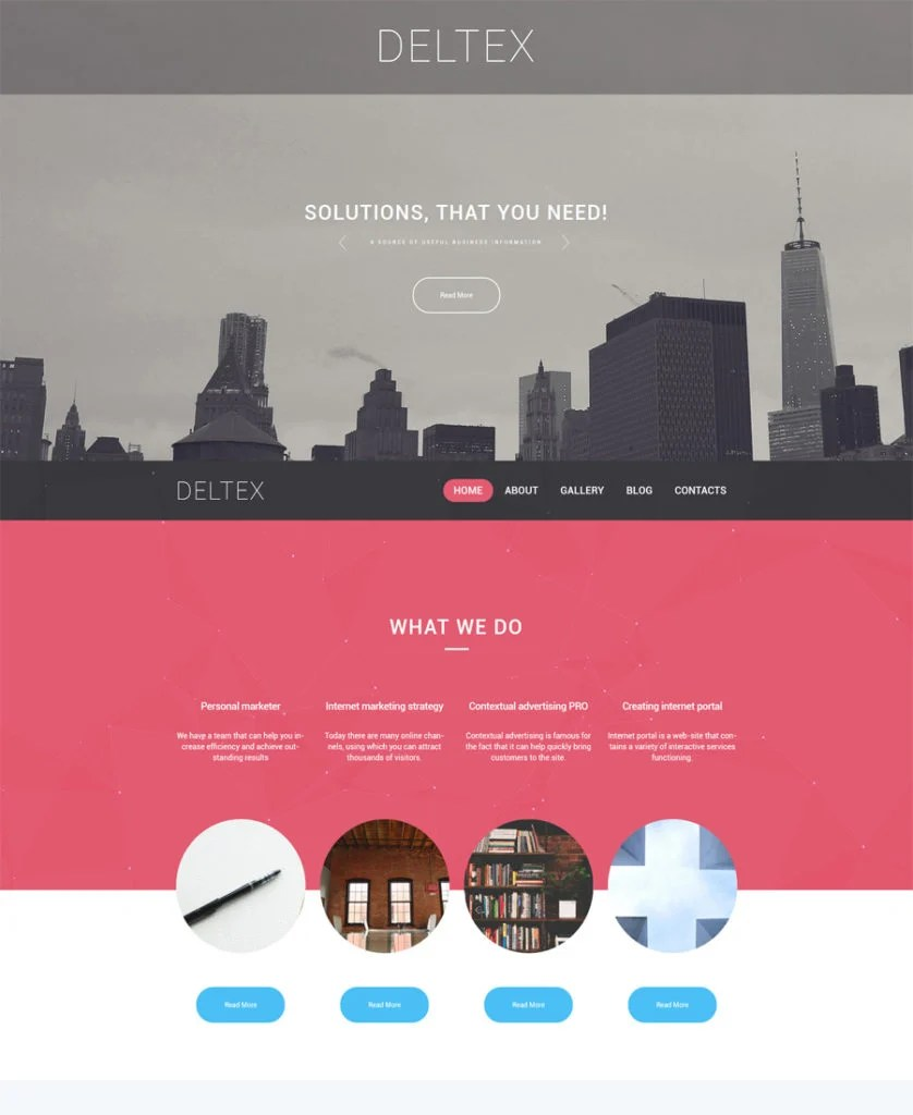 Deltex-WordPress-Theme