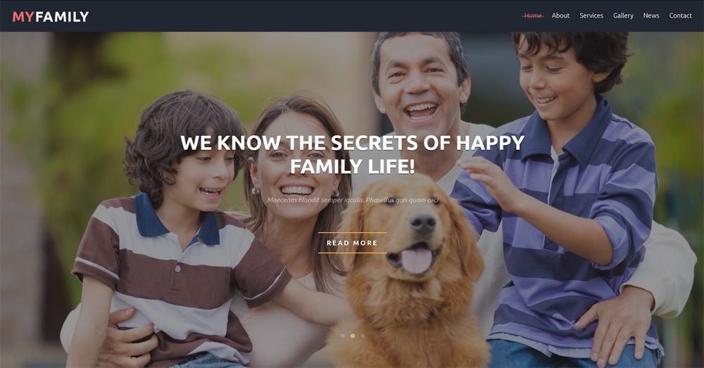 Family-Center-Free-Joomla-Template
