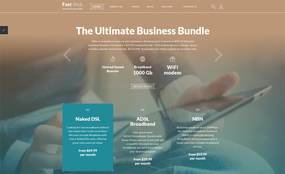 Fast-Web-Joomla-Template