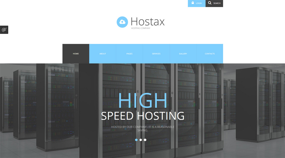 Hostax-Joomla-Template