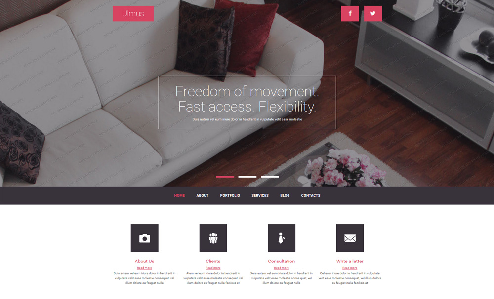 Interior-&-Furniture-Free-Joomla-Template