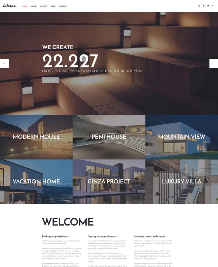 Interna-WordPress-Theme