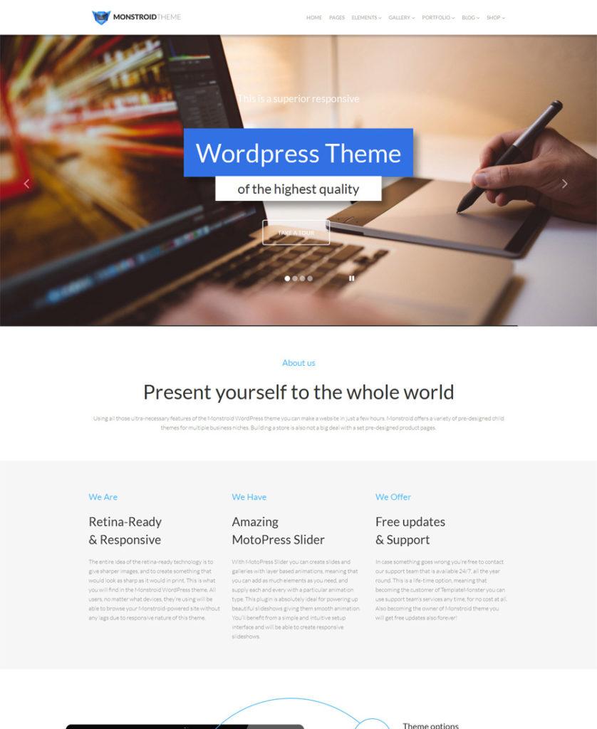 Monstroid-WordPress-Theme